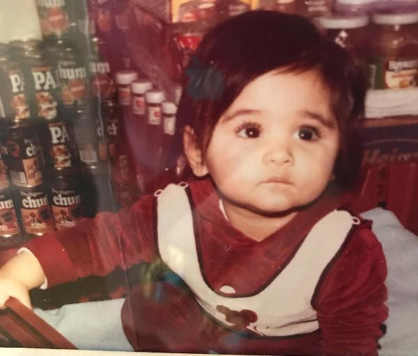 Mandy Takhar's childhood picture