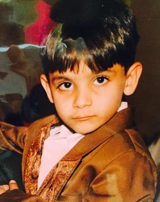 Millind Gaba's childhood picture