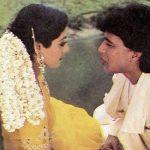 Mithun Chakraborthy with Sridevi