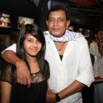 Mithun Chakraborty with Dishani
