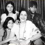 Nargis with her children