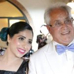Neha Bhasin with her father Ashoke Bhasin