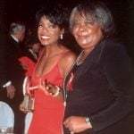 Oprah Winfrey with her mother Vernita Lee