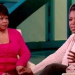 Oprah with her sister Patricia Lloyd