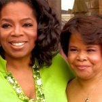Oprah with her sister Patricia Lofton