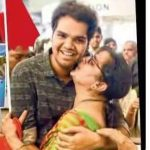 PVNS Rohit with his mother Sudha