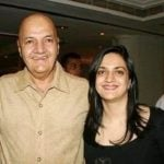 Uma Chopra husband Prem Chopra with her daughter Punita Chopra