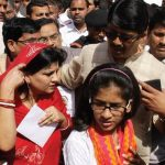 Raja Bhaiya with his Wife and Daughter