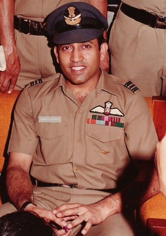 Rakesh Sharma During His Days In The Indian Air Force