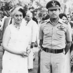 Rakesh Sharma with then PM Indira Gandhi