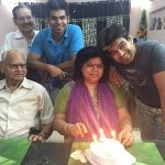 Sahil Vaid Family