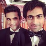 Sanam Puri with his brother Samar