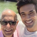 Sanam Puri with his father