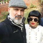Sapna with her third husband Sameer Malhotra