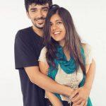 Sejal with her Boyfriend Mohak Popla