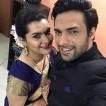 Shaleen with his wife Diksha Rampal