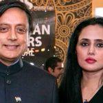 Shashi Tharoor and Mehr Taraar