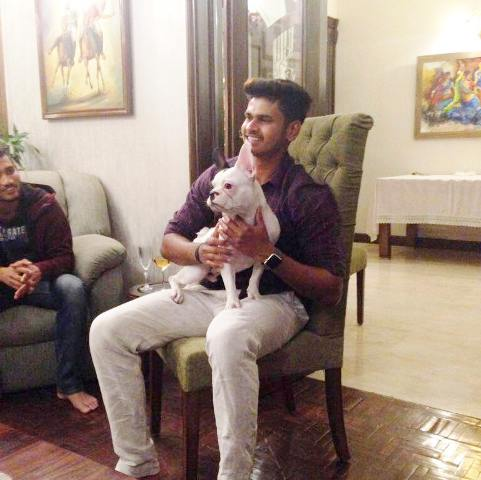 Shreyas Iyer, an animal lover