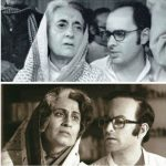 Supriya Vinod and Neil Nitin Mukesh as Indira Gandhi and Sanjay Gandhi in Indu Sarkar