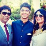 Taaruk Raina with His Parents