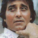 Vinod Khanna signature