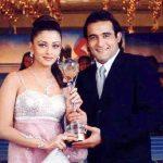 Akshaye Khanna with Aishwarya Rai