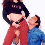 Akshaye Khanna with Karisma Kapoor