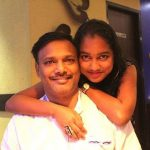 Ankita Kundu with her father