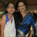 Ankita Kundu with her mother