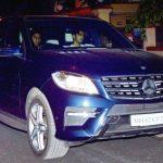 Arjun Kapoor Mercedes ML350