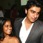 Arpita Khan with Arjun Kapoor