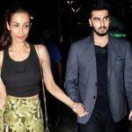 Arjun Kapoor with Malakia Arora