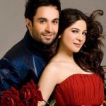 Ayesha Omer with  her husband Ali Kazmi