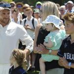 Brendon McCullum with family