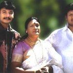 darshan-thoogudeep-with-his-mother-meena-and-brother-dinakar-thogudeepa