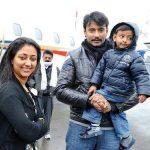 darshan-thoogudeep-with-his-wife-vijaya-lakshmi-and-son-vineesh