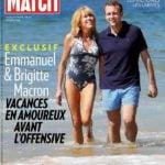 Emmanuel Macron With His Wife Brigitte Trogneux