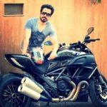 Emraan Hashmi Ducati Diavel