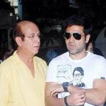 Emraan Hashmi With His Father