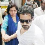 Emraan Hashmi With His Mother