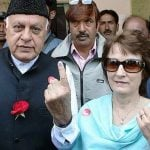 Sarah Abdullah's Parents, Farooq Abdullah and Mollie
