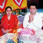 Gulshan Kumar with his wife