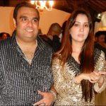 Kim Sharma with estranged husband