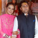 Mohit Suri with wife Udita Goswami