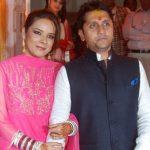 Mohit Suri with wife Udita Goswami