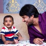 Nani with his son Arjun