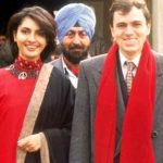 Omar Abdullah with his Ex-wife Payal Nath