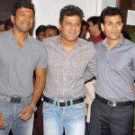 puneeth-rajkumar-with-his-brothers-shiva-rajkumar-center-raghavendra-rajkumar-left