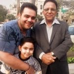 Sachin Ahuja father & his son