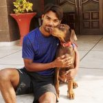 Sandeep Sharma with his pet